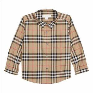 Burberry Kids Fred Check Shirt